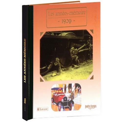 Livres Années Mémoire 1920