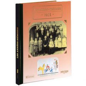 Livre mémoire de l'année 1921