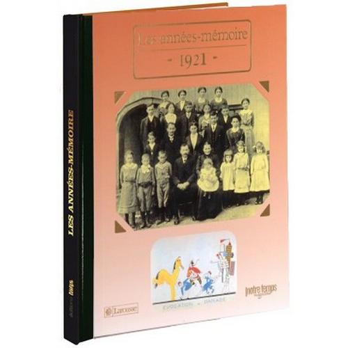 Livres Années Mémoire 1921