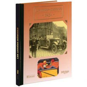 Livre mémoire de l'année 1924