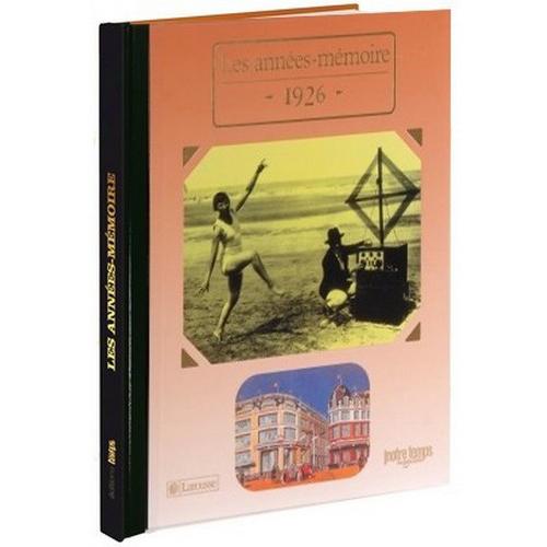 Livres Années Mémoire 1926