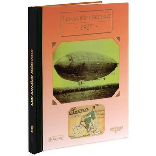 Livres Années Mémoire 1927