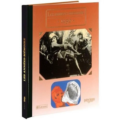 Livres Années Mémoire 1930