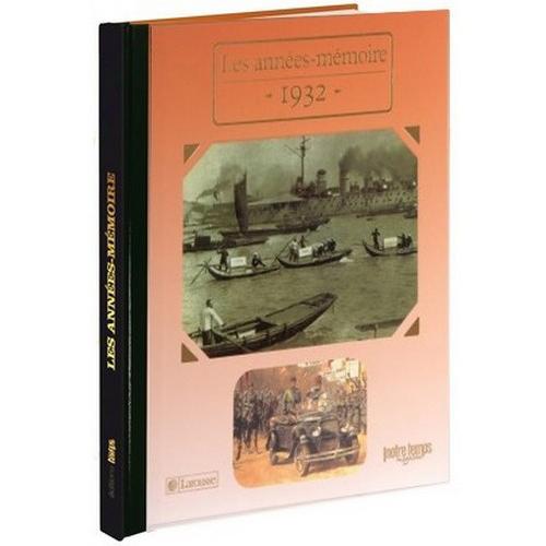 Livres Années Mémoire 1932