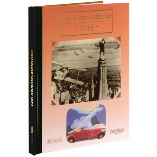 Livres Années Mémoire 1933