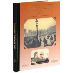 Livre mémoire de l'année 1934