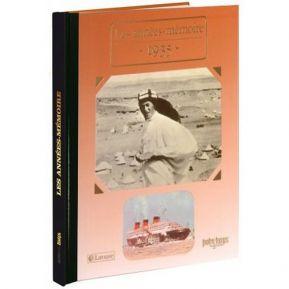 Livre mémoire de l'année 1935