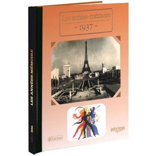 Livres Années Mémoire 1937