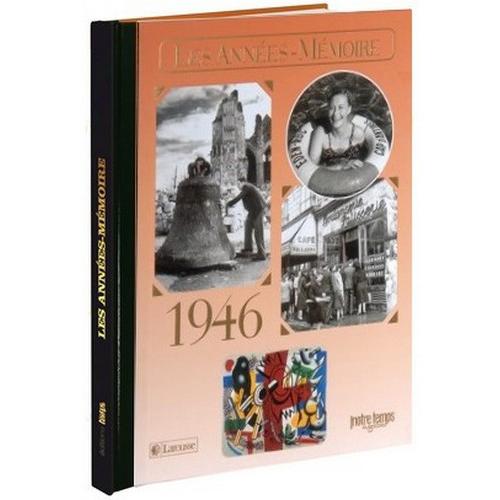 Livre Années Mémoire 1946