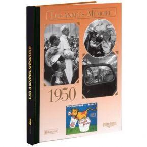 Livre mémoire de l'année 1950