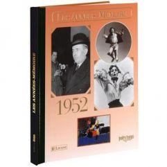 Livre mémoire de l'année 1952