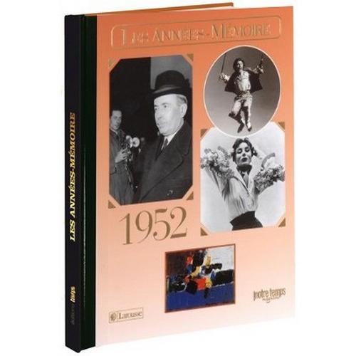 Livre Années Mémoire 1952