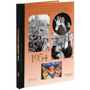 Livre mémoire de l'année 1954