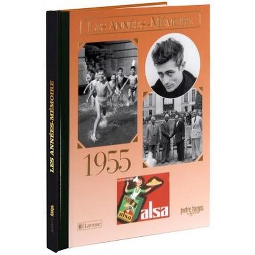 Livre Années Mémoire 1955