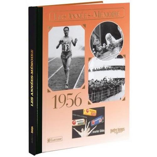 Livre Années Mémoire 1956