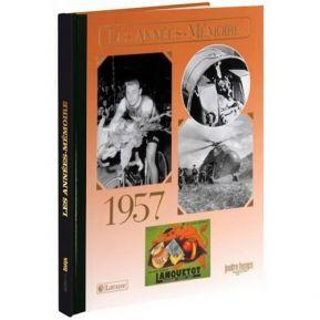 Livre mémoire de l'année 1957