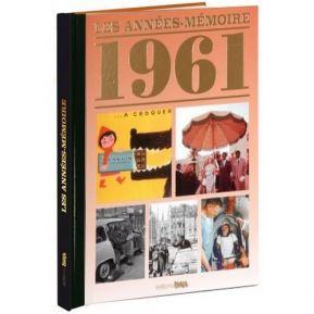 Livre mémoire de l'année 1961