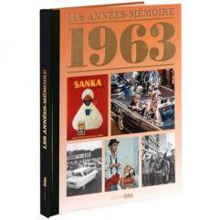 Livre mémoire de l'année 1963