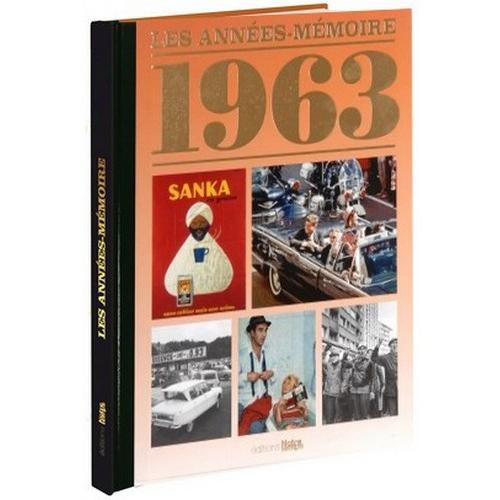 Livre Années Mémoire 1963