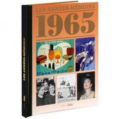 Livre mémoire de l'année 1965
