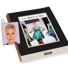 """Livre personnalisé """"La Mode et moi"""""""