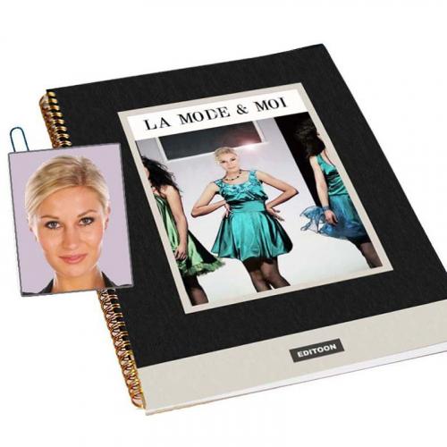 Livre personnalisé photo la Mode et Moi