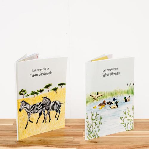 Livre prénom animaux avec couverture souple