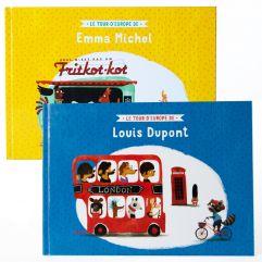 Livre personnalisé Tour d'Europe