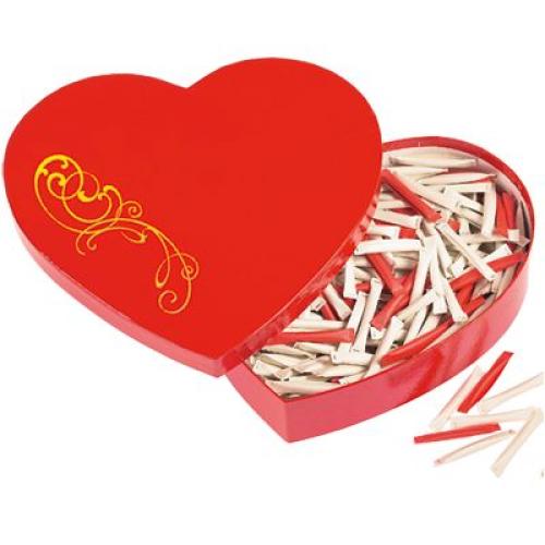 Love heart boite messages d'amour