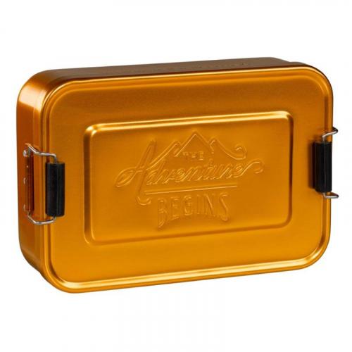 Lunch Box dorée The Adventure Begins