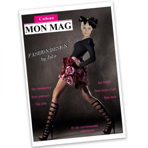 Magazine femme personnalisé