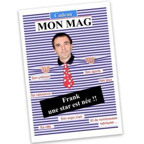 Magazine personnalisé pour homme