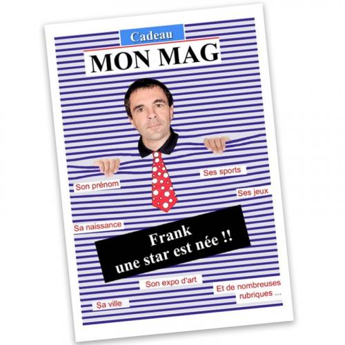 Magazine homme personnalisé