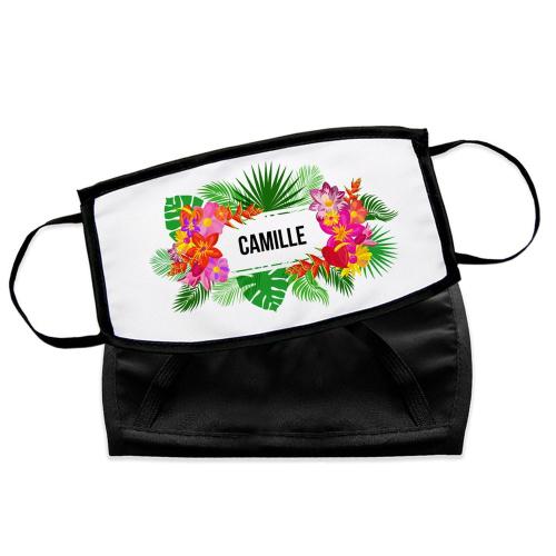 Masque en tissu Fidji personnalisé