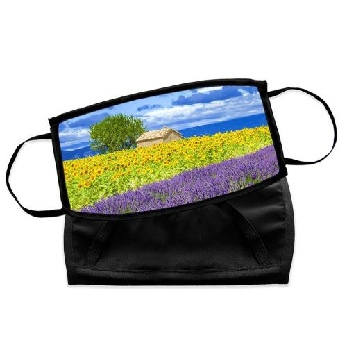 Masque personnalisé avec une hoto de paysage