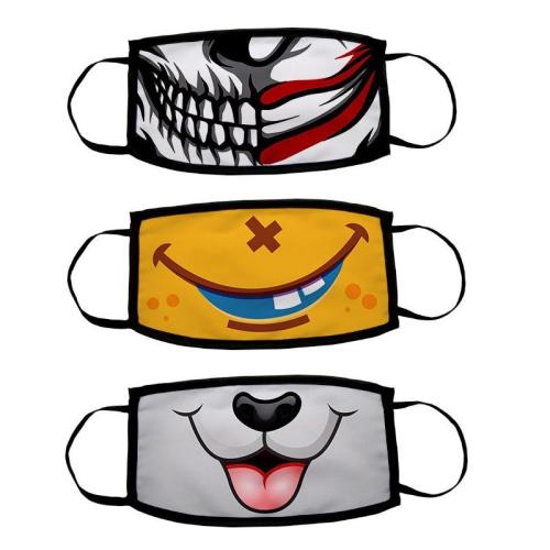 Masques de protection rigolos