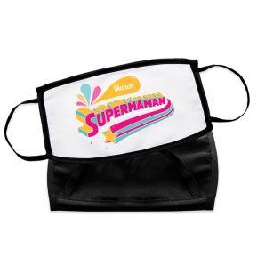 Masque de protection Super Maman personnalisé