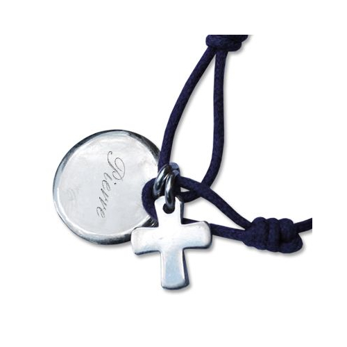 Bracelet de baptême gravé