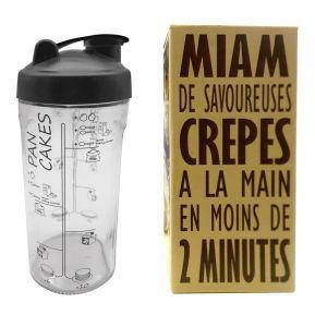 Crêpes and pancakes Shaker