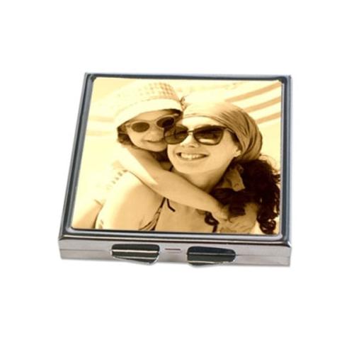 Miroir de poche photo sepia