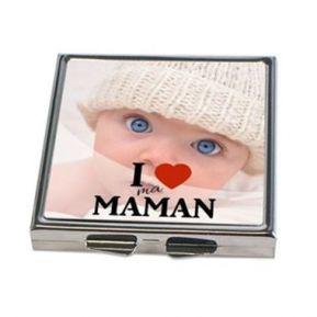 Miroir de poche fête des mères