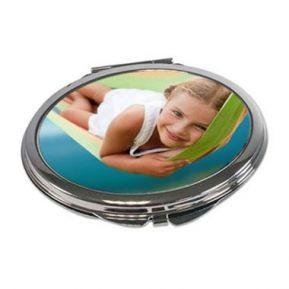 Miroir de poche ovale photo