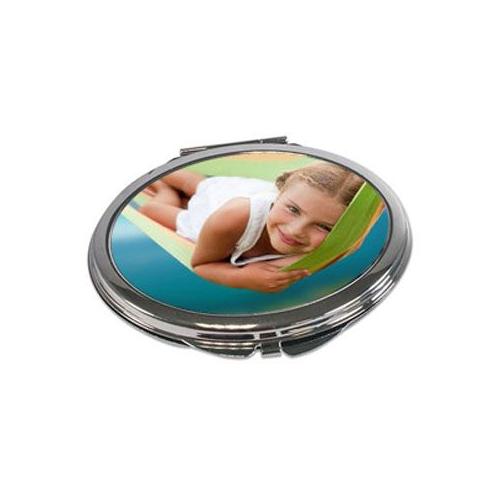 Miroir personnalisé de forme ovale