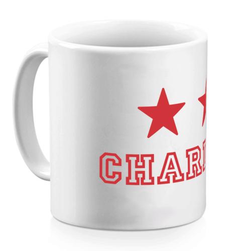 Mug 2 étoiles rouge