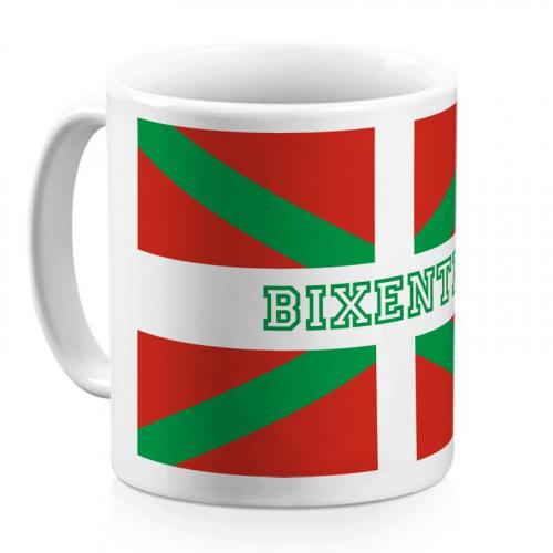 Mug basque personnalisé avec un prénom