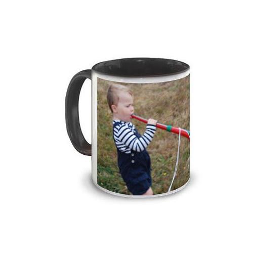 Mug intérieur couleur personnalisé photo