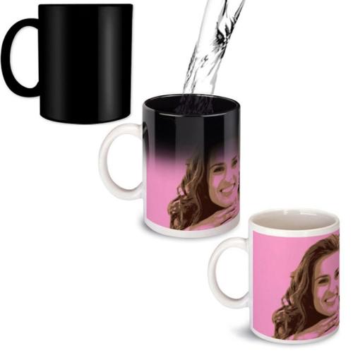 Effet magique sur le mug Pop art