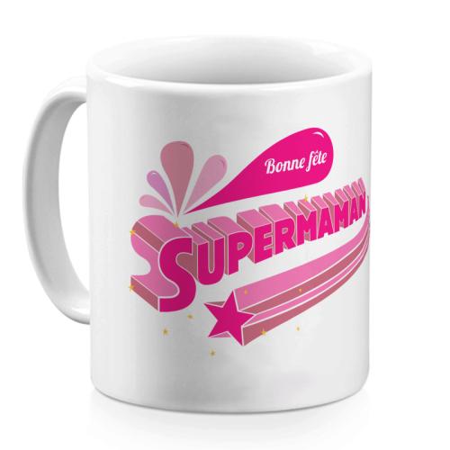 Mug supermaman personnalisé