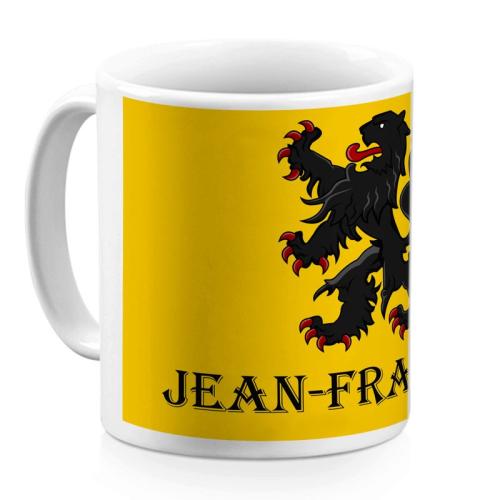 Mug flamand personnalisé avec un prénom