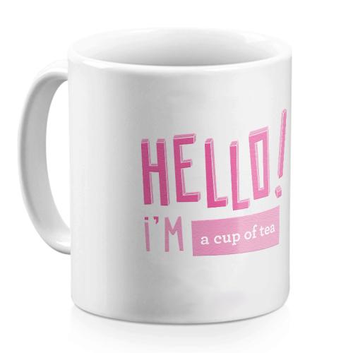Mug Hello bonbon personnalisé